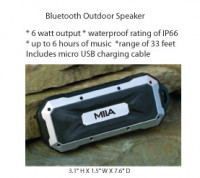 Bluetooth Outdoor Speaker - Beach/Picnic/Camp, Home