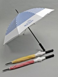 Large Striped Umbrella - Home