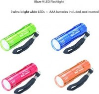 Blaze LED Flashlight - Safety