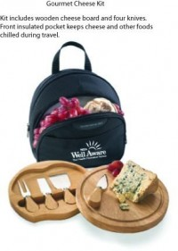 Gourmet Cheese Kit - Beach/Picnic/Camp, Food/Beverage