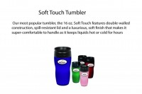 Soft Touch Travel Tumbler - Beach/Picnic/Camp, Food/Beverage