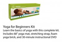 Yoga for Beginners Kit - Fitness and Sports, Mental Health/Relaxation