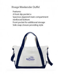 Rivage Weekender Duffel - Beach/Picnic/Camp, Fitness and Sports