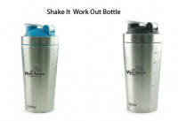 Shake It Work Out Bottle - Fitness and Sports