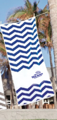 Zig Zag Beach Towel - Beach/Picnic/Camp